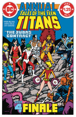 DOLLAR COMICS TALES OF THE TEEN TITANS ANNUAL 3 #1