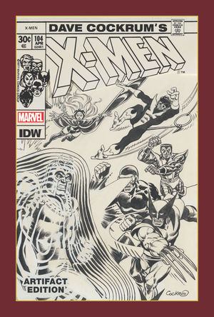 DAVE COCKRUM X-MEN ARTIFACT ED HC