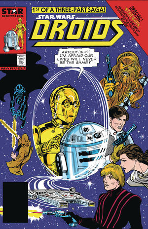 TRUE BELIEVERS STAR WARS ACCORDING TO DROIDS 1 #1