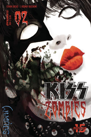 KISS ZOMBIES (2019) #2
