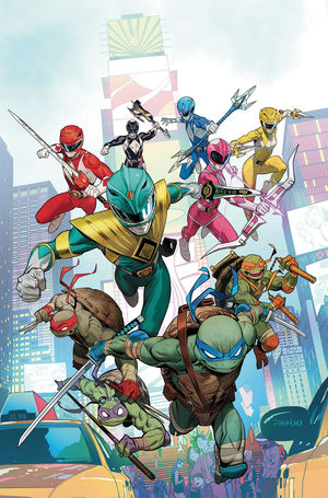 POWER RANGERS TEENAGE MUTANT NINJA TURTLES (2019) #1