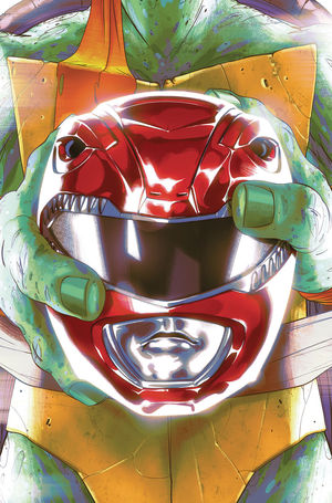POWER RANGERS TEENAGE MUTANT NINJA TURTLES (2019) #1C
