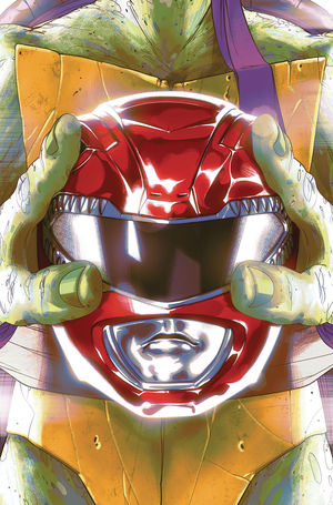 POWER RANGERS TEENAGE MUTANT NINJA TURTLES (2019) #1E