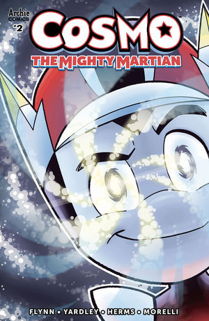 COSMO MIGHTY MARTIAN CVR A YARDLEY 2