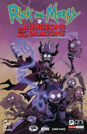 RICK AND MORTY VS D&D II PAINSCAPE (2019) #4