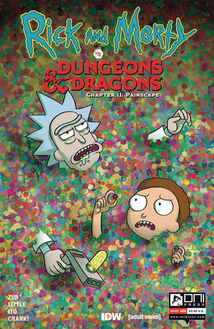 RICK AND MORTY VS D&D II PAINSCAPE (2019) #4B