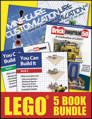 LEGO 5 BOOK BUNDLE