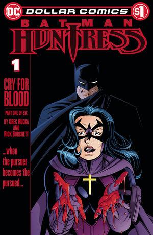 DOLLAR COMICS BATMAN HUNTRESS CRY FOR BLOOD #1
