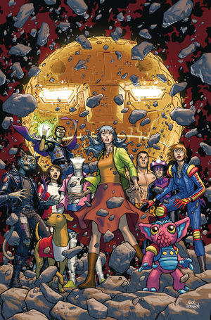 DOOM PATROL THE WEIGHT OF THE WORLDS (2019) #7