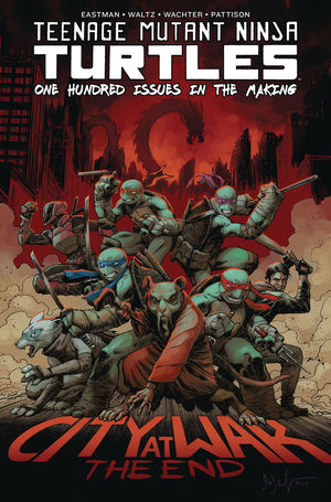 TMNT ONGOING DELUXE HC 100 (2020) #1