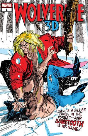 WOLVERINE VS SABRETOOTH 3D (2020) #1