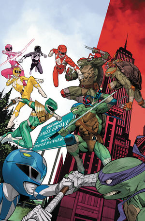 POWER RANGERS TEENAGE MUTANT NINJA TURTLES (2019) #2