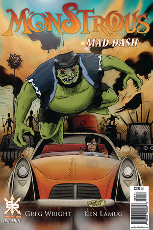 MONSTROUS MAD DASH ONE-SHOT (2020) #1