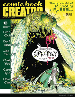 COMIC BOOK CREATOR (2013) #22