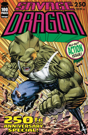 SAVAGE DRAGON (1993 2ND SERIES) #250