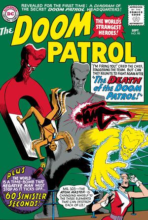 DOOM PATROL THE SILVER AGE TPB (2020) #2