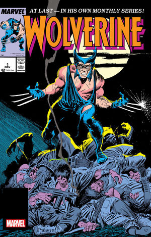 WOLVERINE CLAREMONT AND BUSCEMA FACSIMILE EDITION #1
