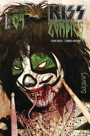 KISS ZOMBIES (2019) #4