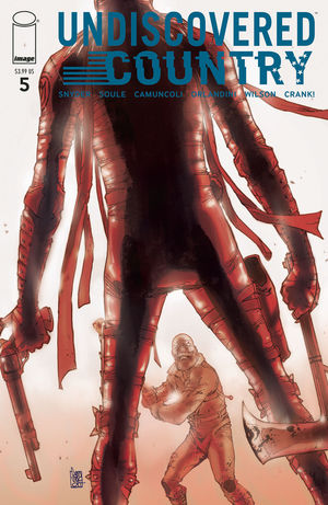 UNDISCOVERED COUNTRY (2019) #5