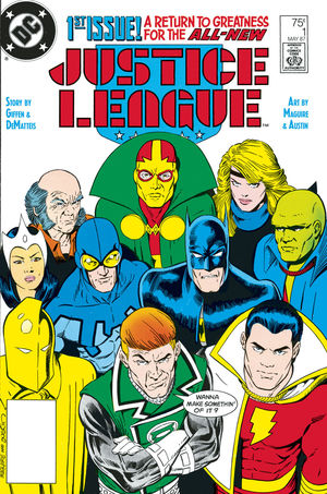 DOLLAR COMICS JUSTICE LEAGUE 1987 1 (2020) #1