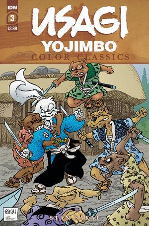 USAGI YOJIMBO COLOR CLASSICS (2020) #3