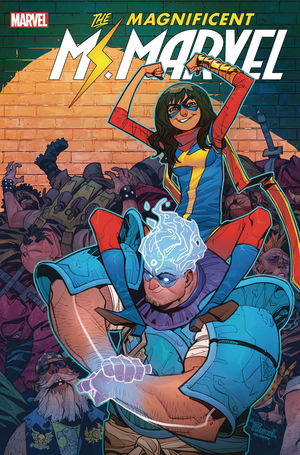 MAGNIFICENT MS. MARVEL (2019) #13