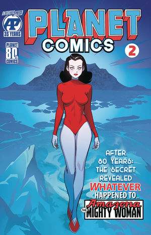 PLANET COMICS (2020) #2