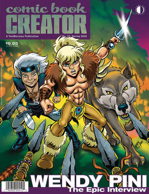 COMIC BOOK CREATOR (2013) #23