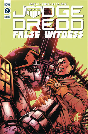 JUDGE DREDD FALSE WITNESS (2020) #2