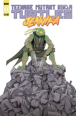 TEENAGE MUTANT NINJA TURTLES JENNIKA (2020) #3