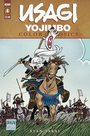 USAGI YOJIMBO COLOR CLASSICS (2020) #4