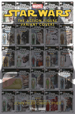 STAR WARS ACTION FIGURE VARIANT COVERS (2020) #1