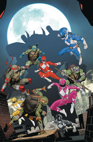 POWER RANGERS TEENAGE MUTANT NINJA TURTLES (2019) #5