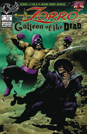 ZORRO GALLEON OF DEAD (2020) #1
