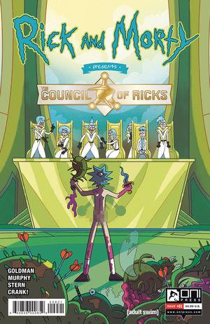 RICK AND MORTY PRESENTS COUNCIL OF RICKS (2020) #1B