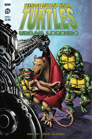 TEENAGE MUTANT NINJA TURTLES URBAN LEGENDS (2018) #25