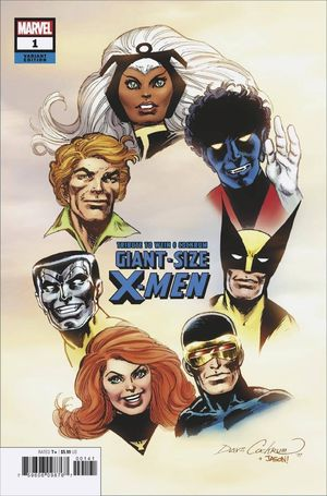 GIANT SIZE X-MEN TRIBUTE WEIN COCKRUM (2020) #1 HIDDEN