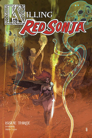 KILLING RED SONJA CVR A WARD (2020) #3