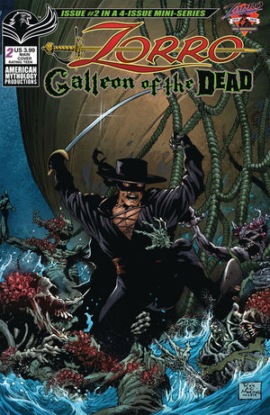 ZORRO GALLEON OF DEAD (2020) #2