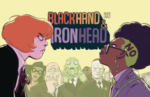 BLACKHAND AND IRONHEAD HC VOL 01 1