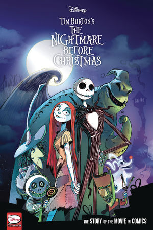 DISNEY NIGHTMARE BEFORE CHRISTMAS MOVIE IN COMICS  #1