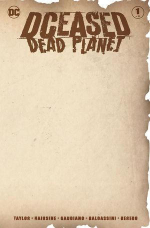 DCEASED DEAD PLANET (2020) #1 BLANK