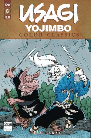 USAGI YOJIMBO COLOR CLASSICS (2020) #6