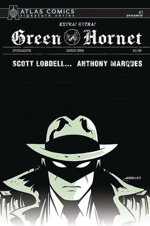 GREEN HORNET (2020) #1 SIGN