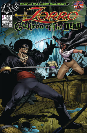 ZORRO GALLEON OF DEAD (2020) #3