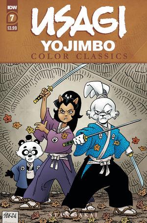 USAGI YOJIMBO COLOR CLASSICS (2020) #7