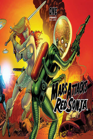 MARS ATTACKS RED SONJA (2020) #1 E