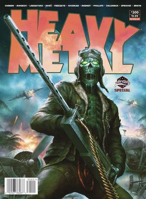 HEAVY METAL MAGAZINE (1977) #300B