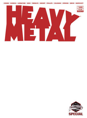 HEAVY METAL MAGAZINE (1977) #300D