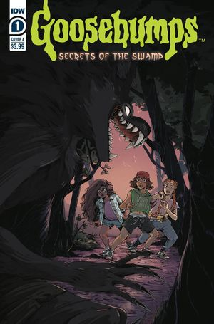 GOOSEBUMPS SECRETS OF THE SWAMP (2020) #1